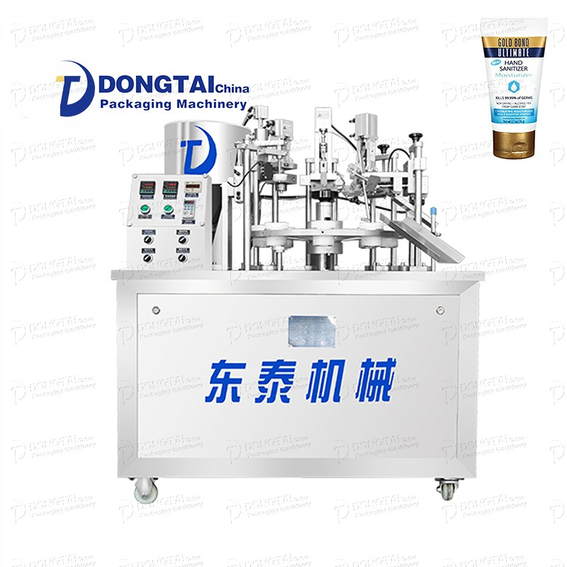 Automatic liquid plastic filling and sealing machine