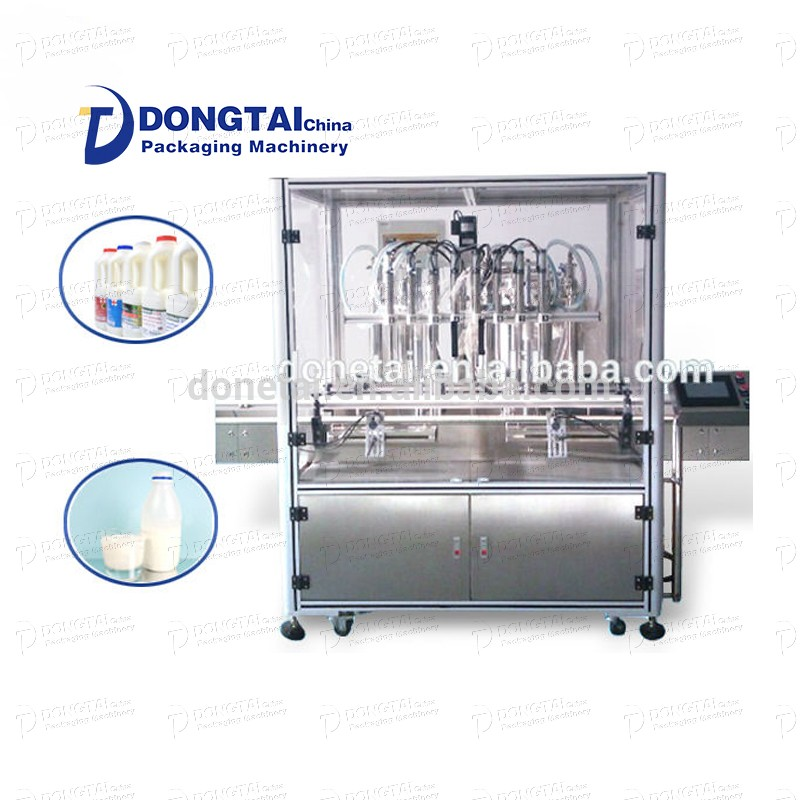 Automatic liquid soap and milk liquid filling machinery and equipment