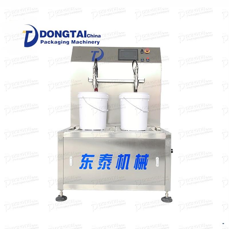 Semi-automatic liquid filling machine Liquid piston filling machine