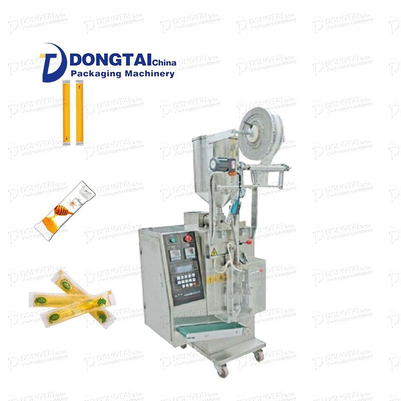 Automatic tomato sauce packaging machine/sauce body filling packaging machine/honey paste packaging machine