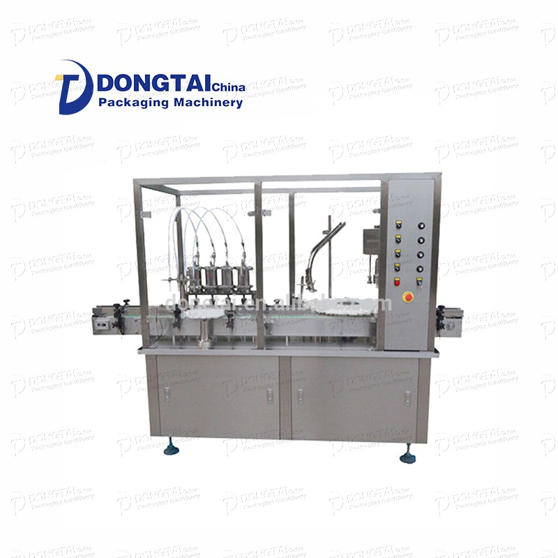 Powder filling and capping machine Automatic powder filling machine