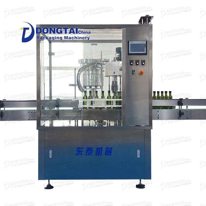 Otomatik yemeklik bitkisel yağ şişesi dolum ve kapatma makinesi