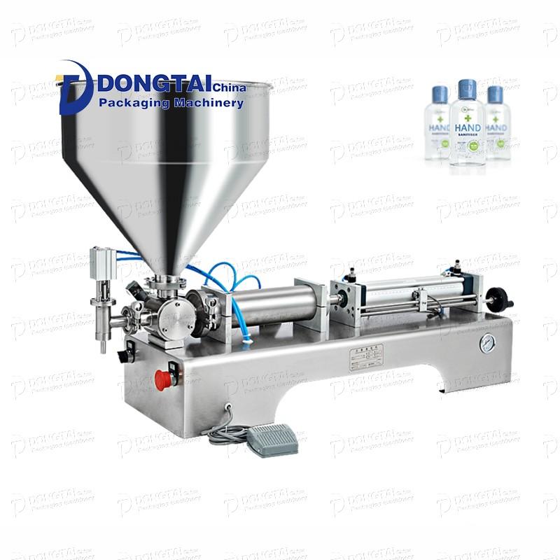 Liquid medicine filling machine, hand sanitizer liquid gel filling machine