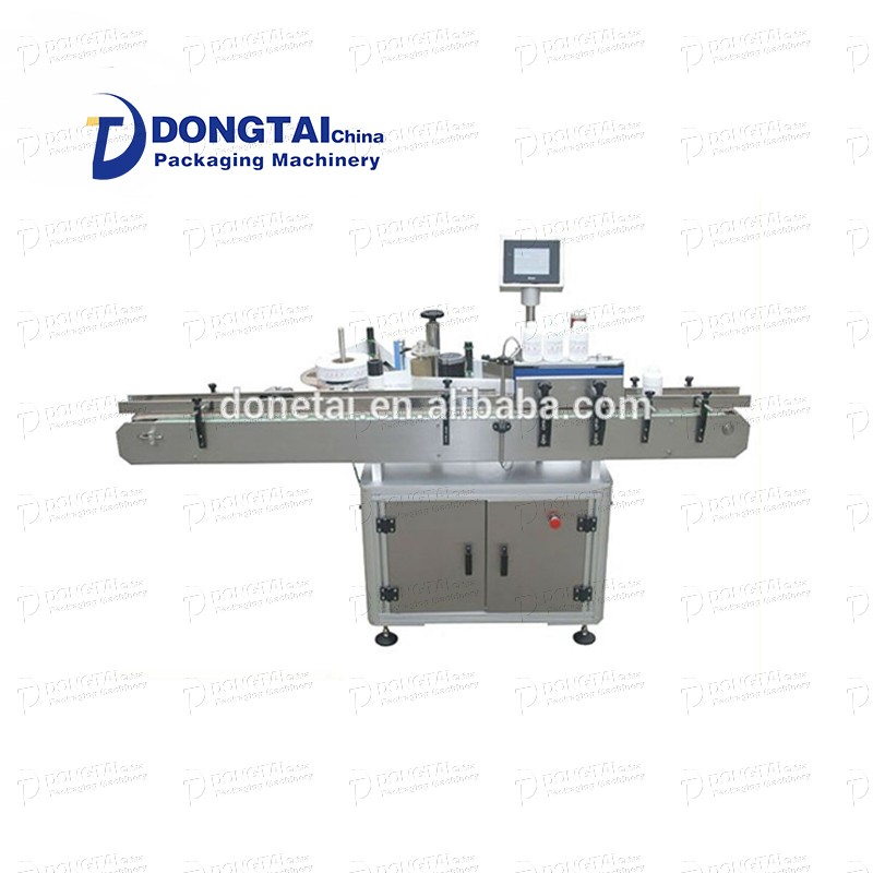 Automatic round bottle/square bottle self-adhesive labeling machine for oil filling