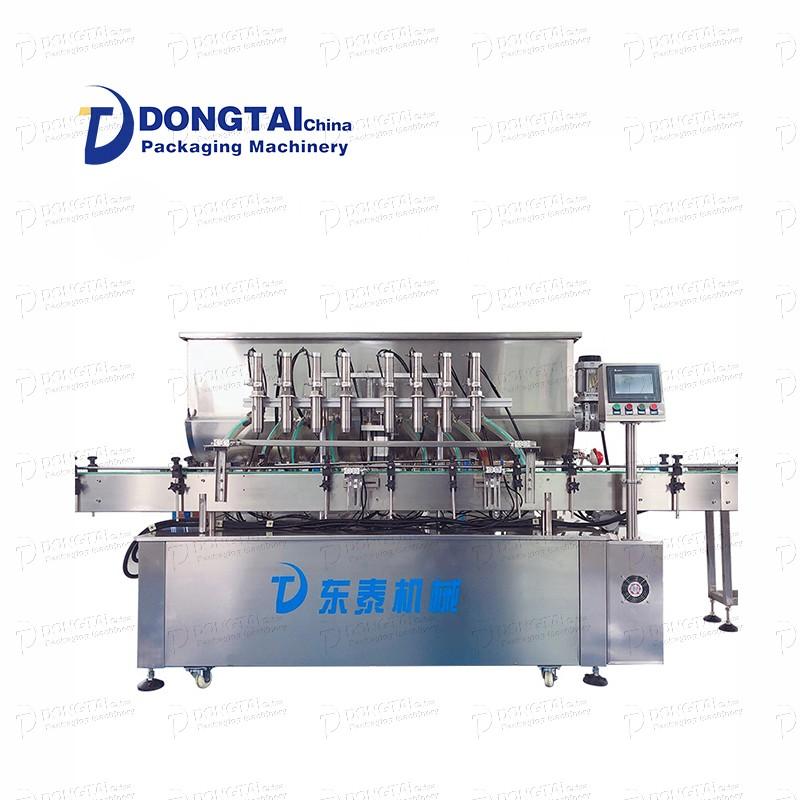 Máquina automática de enchimento de molho de pimenta preta máquina de enchimento de molho teriyaki