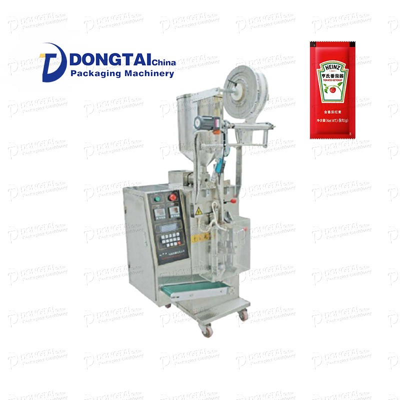 Automatic paste paste ketchup pouch packaging machine
