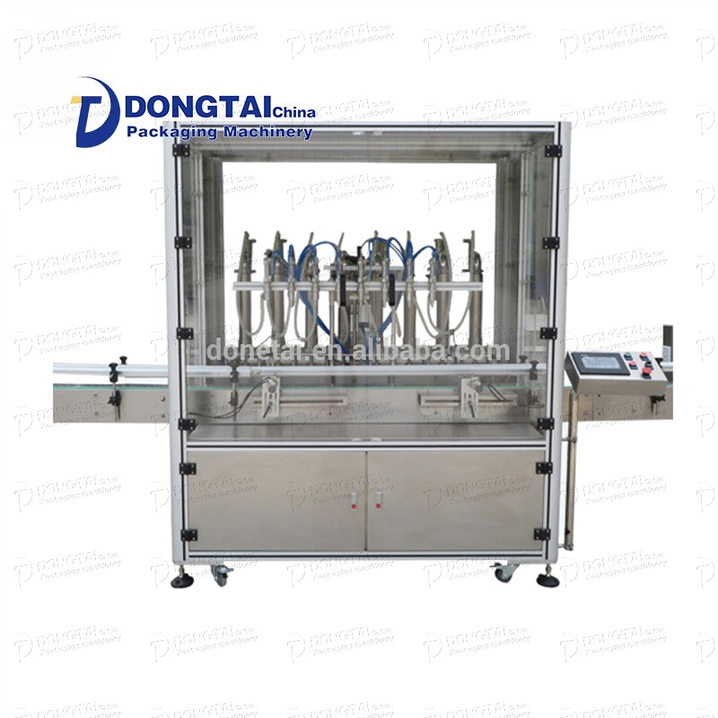 Automatic liquid filling machine bottled liquid filling machine