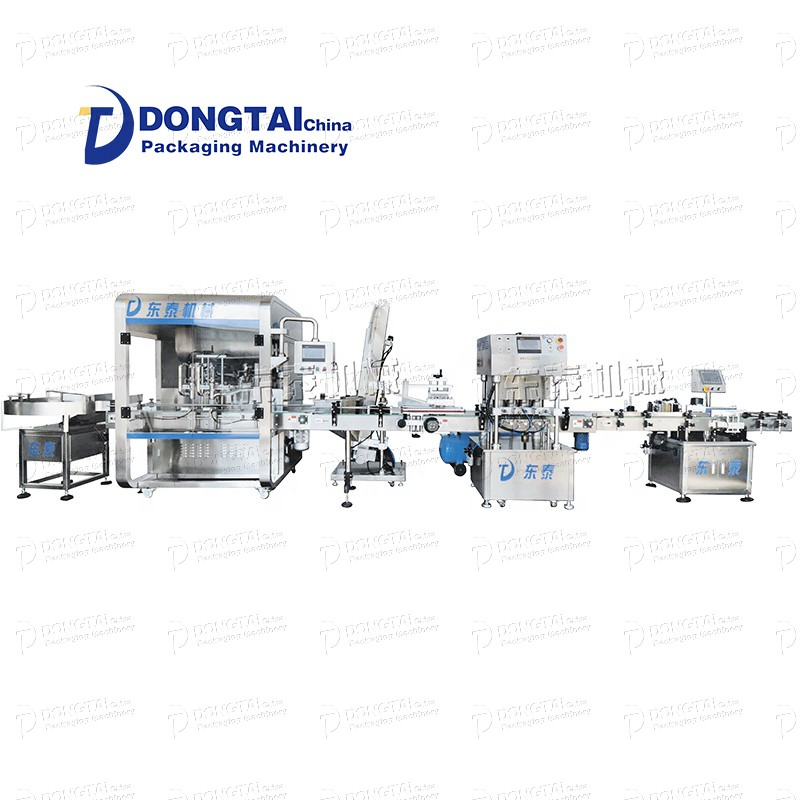 Automatic lubricant/edible oil/vegetable oil/motor oil filling machine filling line