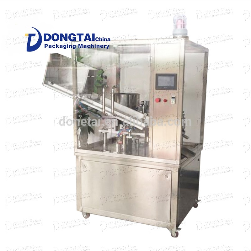 Automatic skin cream/liquid disinfection machine/paste filling and sealing machine
