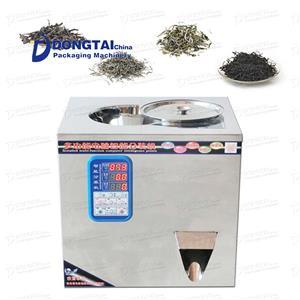 Macchina per sottovuoto manuale per tè verde / confezionatrice sottovuoto in polvere