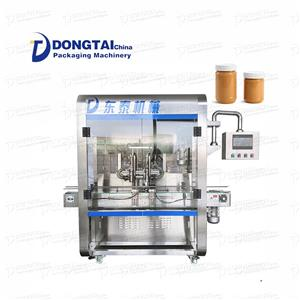 bottle sauce filling machine sauce nottle filling machine automatic peanut sauce filling machine