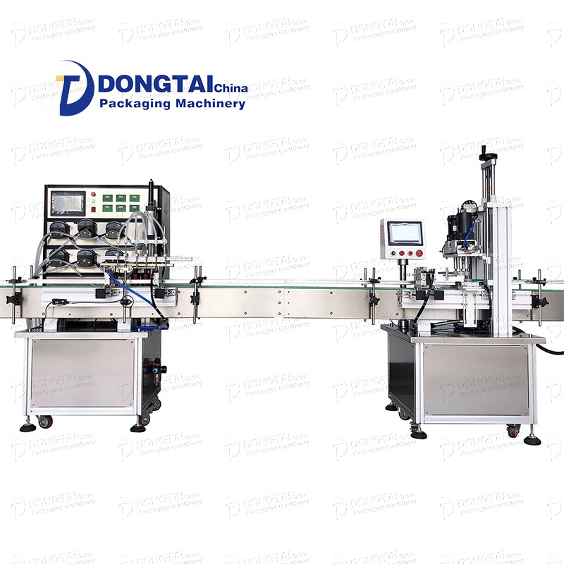 Bottled automatic liquid soap detergent small volume filling machine