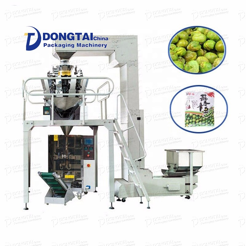 Automatic paste ketchup packaging machine