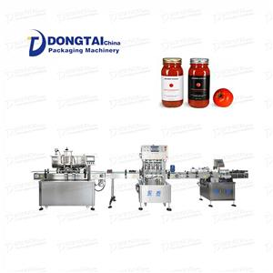 meat sauce curry sauce filling machine automatic peanut sauce filling machine filling capping labeling line