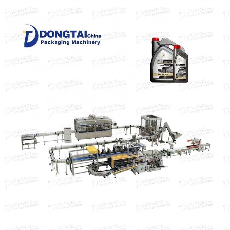 Non-drip integrated automatic quantitative olive oil filling line