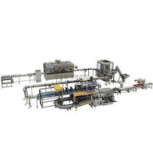 Precision filling lubricant filling machine production line