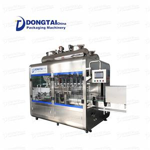 packing incups paste pizza dongtai chilli oyster sauce filling machine