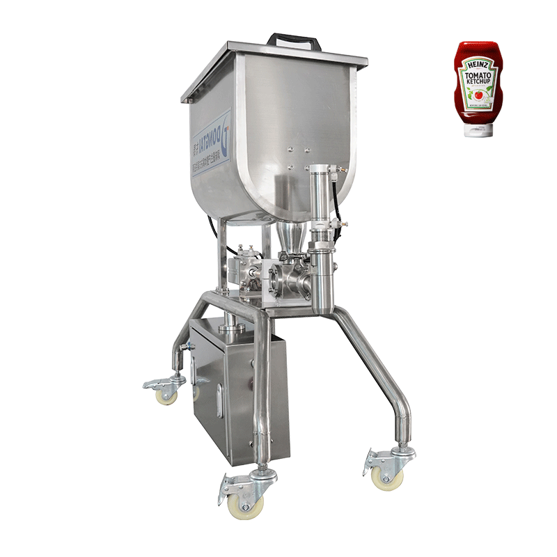Granular sauce filling machine
