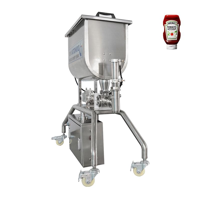 Mesin pengisian saus granular
