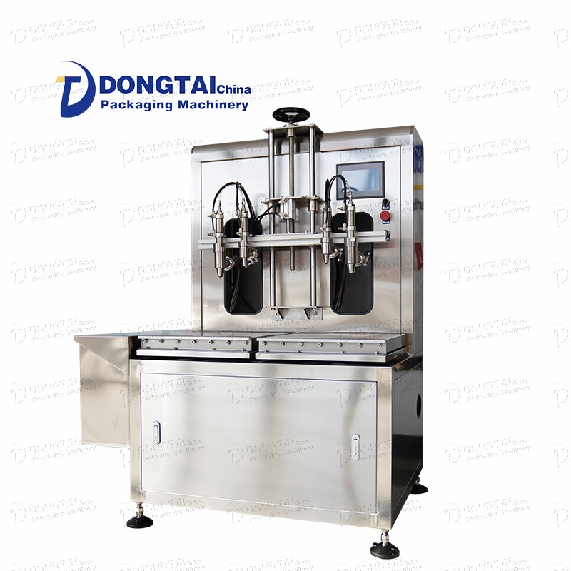 Máquina de enchimento semiautomática de lubrificante
