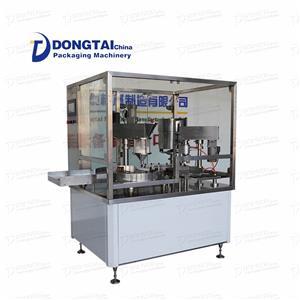 Automatic powder bottle filling machine