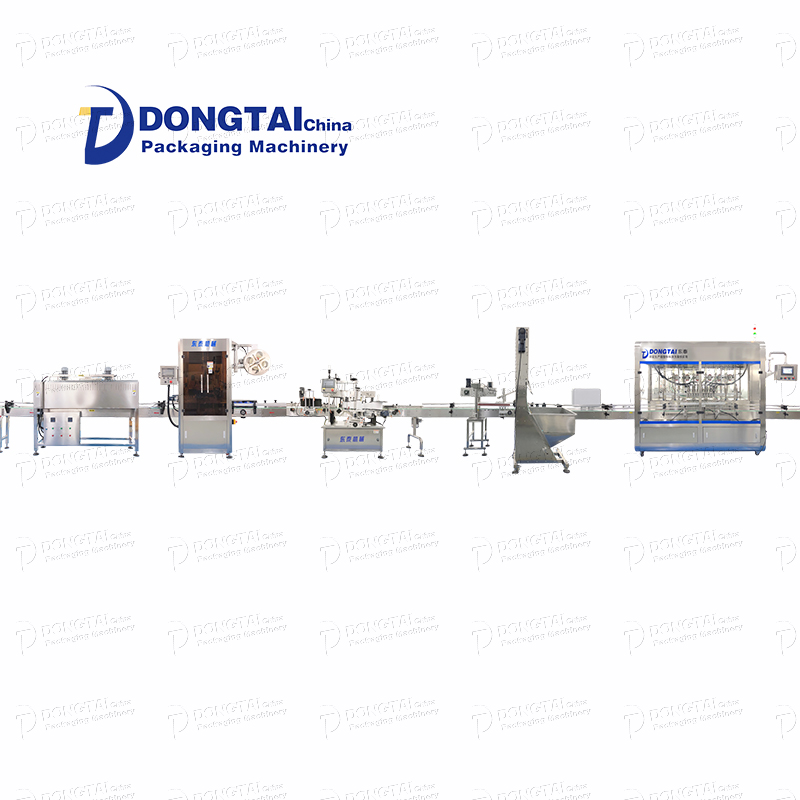 What is the sesame oil filling production line of
