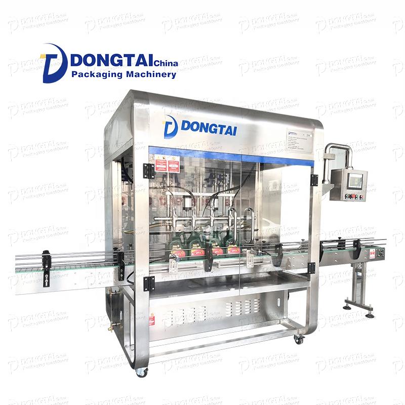 Uma máquina de enchimento de óleo lubrificante com oito vantagens em uma!