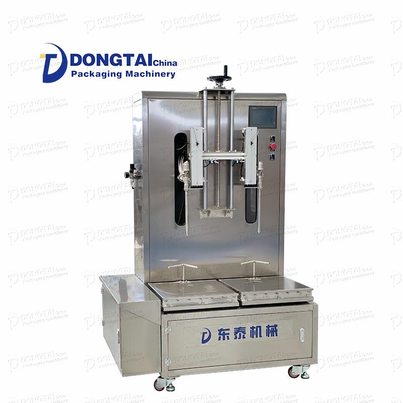 máquina de enchimento líquido semiautomática