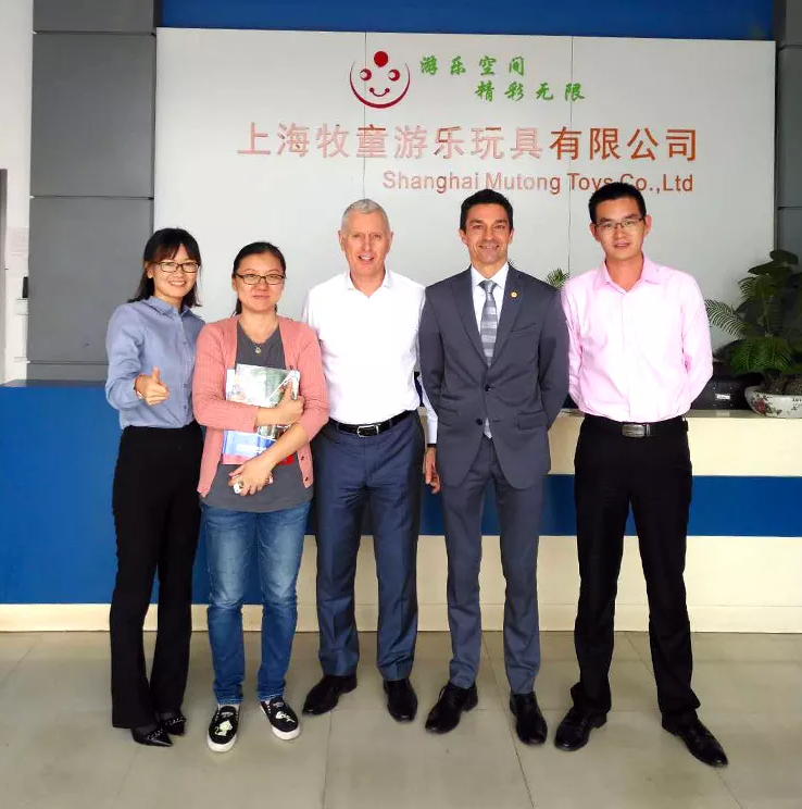 Welcome Customers From The United States To Visit Our Factory