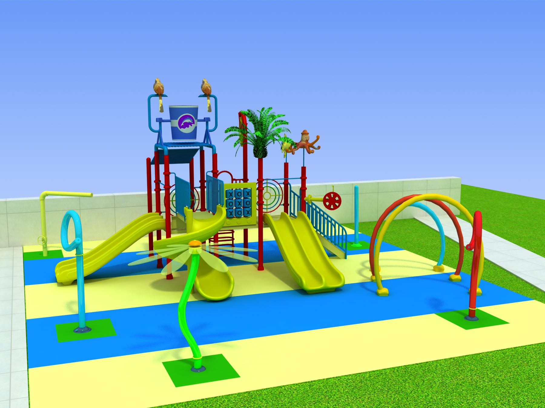 Mexico water park project