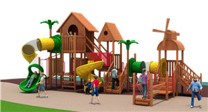 Kids Plastic Slide Outdoor Play Equipment