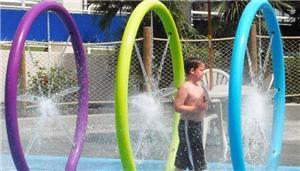 Children Spray Park Water Playground Area