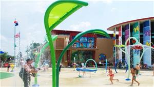Commercial Spray Water Park Splash Pad Equipment