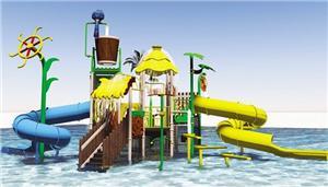 Home Swimming Pool Water Slide