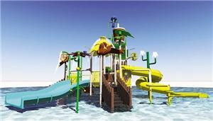High Quality Fiberglass Pool Water Slide Factory