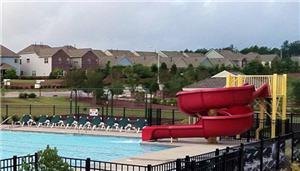 Kids Water Park Mini Slide