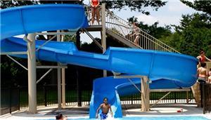 Water Park Fiberglass Slides
