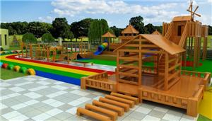 Toddler Amusement Park Outdoor Playground