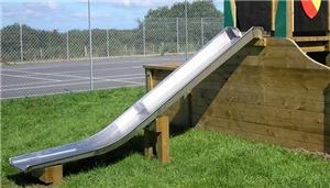 Amusement Equipment Kids Stainless Steel Slide