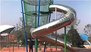 Outdoor Stainless Steel Slide Playground Equipment