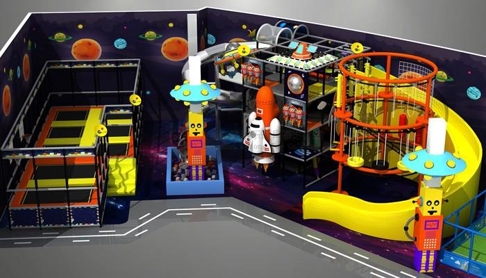 Indoorplayground With Trampoline