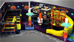 Indoorplayground With Trampoline