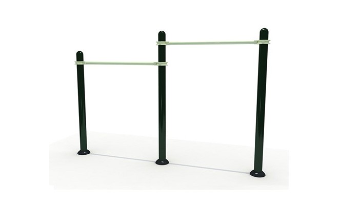 Outdoor Gym Exercise Parallel Bar Equipment