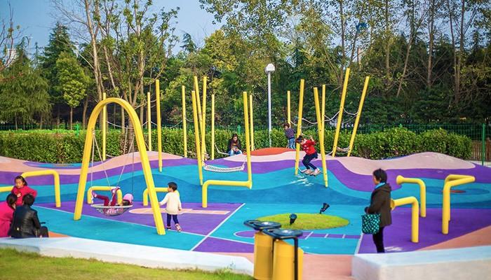 Kids Custom Outdoor Playground For Landscape