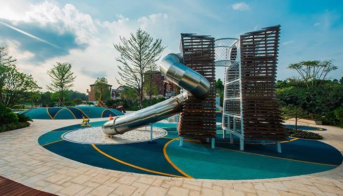 Custom Park Playground Slide Equipment