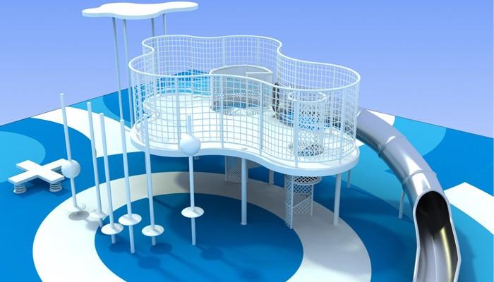 Kids Custom Outdoor Playground