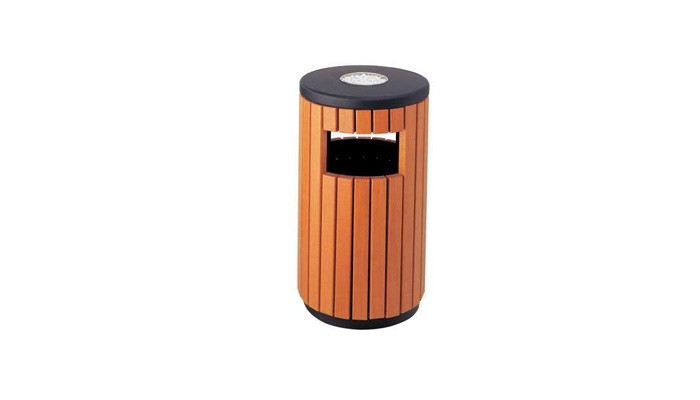 Wpc Recycle Dustbin Street Trash Bin