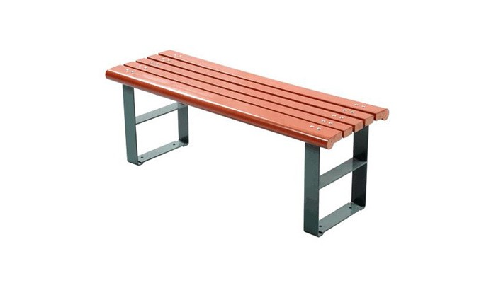 Outdoor Park Wooden Patio Bench
