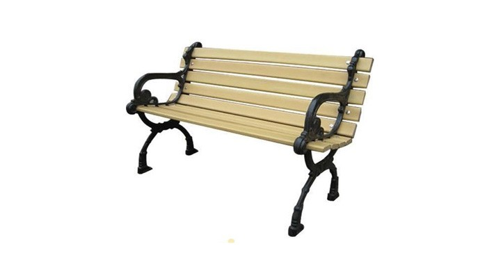 Outdoor Garden Wpc Wood Patio Bench