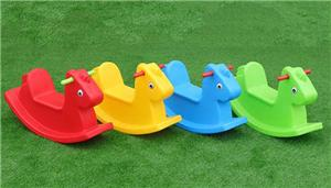 Swing Set With Plastic Slide Seasaw For Todder